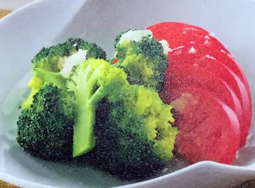 トマトとブロッコリー